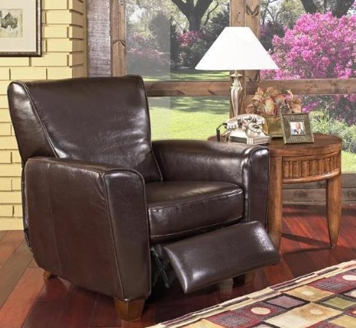 Fantastic Coaster Havana Retro Style Leather Sofa Club Chair Recliner Machost Co Dining Chair Design Ideas Machostcouk