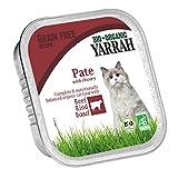Yarrah Pate Rind Zichorie 100g Bio Katzenfutter