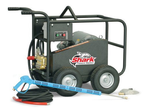 Shark Bre-505007B 5,000 Psi 5.0 Gpm 230 Volt Electric Industrial Series Pressure Washer