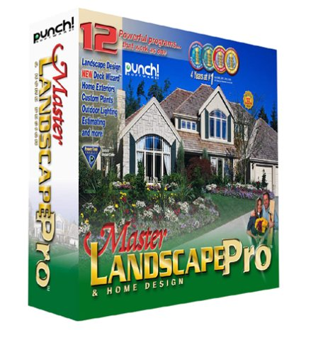 encore punch home and landscape design professional nexgen ForMaster Landscape Home Design Pro