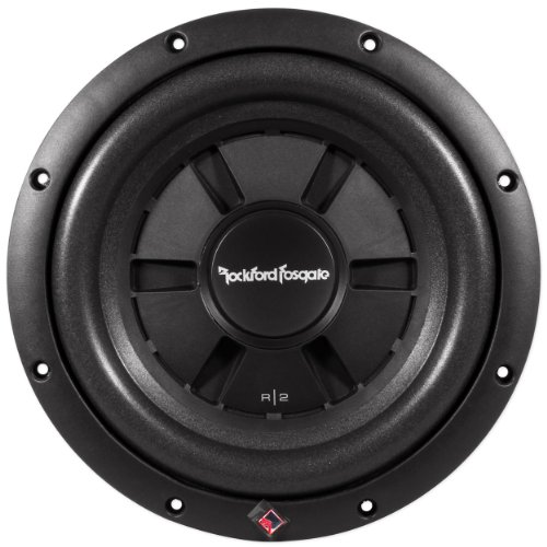 "Brand New Rockford Fosgate R2Sd2-10 10"" Prime R2 Dual 2 Ohm Voice Coil Shallow Subwoofer With 400 Watt Peak / 200 Watt Rms"