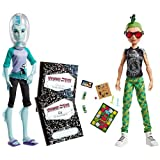 Monster High Mansters Gil Webber Deuce Gorgon Dolls, 2pack by Mattel