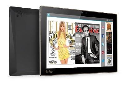 "Kobo Arc 10HD 16 GB Tablet - 10.1"" - NVIDIA Tegra 4 1.80 GHz - Black"