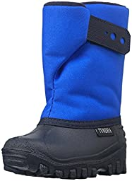 Tundra Unisex Teddy Winter boot (Infant/Toddler/Little Kid), Royal, 4 M US Infant