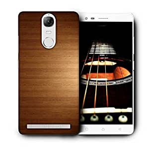 Snoogg Light Wooden Design Printed Protective Phone Back Case Cover For Lenovo K5 Note