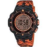 Casio PRG300CM-4 PRO TREK Triple Sensor Version 3 Watch - Orange