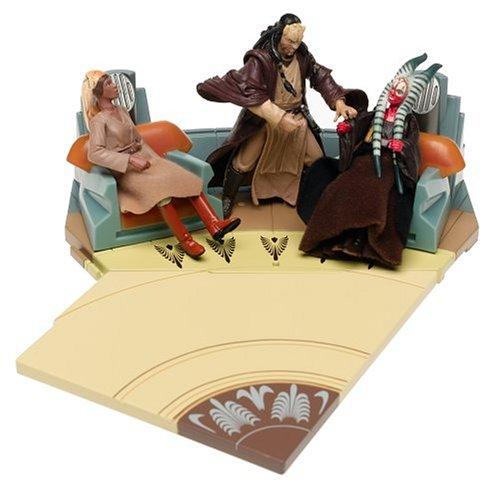 Buy Low Price Hasbro Star Wars Original Trilogy Collection Jedi High Council Scene 4 Figure (B0001Z93IO)