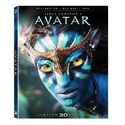 Avatar (3D Blu-ray + Blu-ray/ DVD Combo Pack)