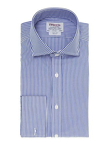tmlewin-camisa-casual-rayas-cutaway-manga-larga-para-hombre-azul-azul-marino