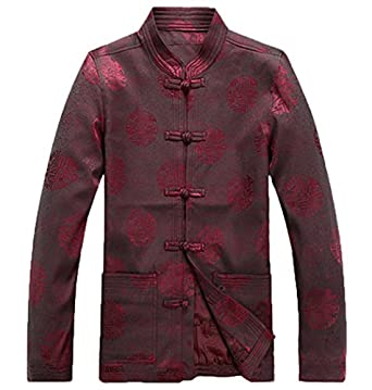 2014 new Chinese Style Men's long sleeved jacket printing outfit