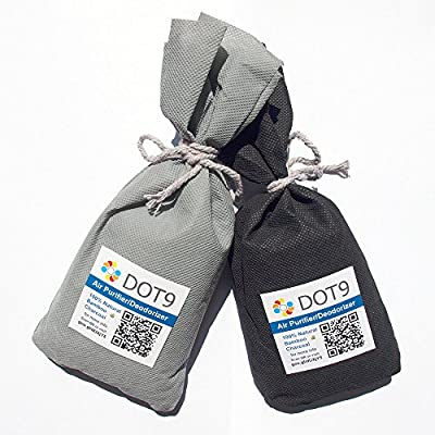 Dot9 Bamboo Charcoal Deodorant Bag Activated Carbon Air Freshener