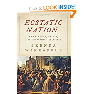 Ecstatic Nation: Confidence, Crisis, and Compromise, 1848-1877 (American History) by Brenda Wineapple