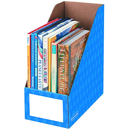 Bankers box classroom magazine file organizer 6 inch - Home decor subscription box ...