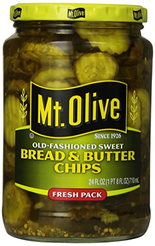 MT. OLIVE Bread and Butter Chips, 24 oz (Bread Butter Pickles compare prices)