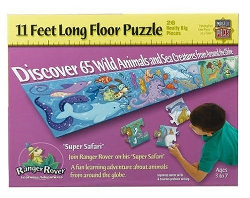 Super Safari Floor Puzzle