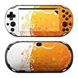PS VITA(PCH-2000専用)用スキンシール【Orange Crush】skn