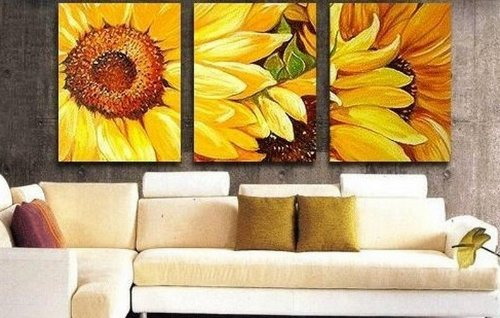 Abstract Yellow Paintings 100 Hand Painted Art Abstract