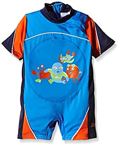 Zoggs Boy's Zoggy Swim Free Learn to Swim Float Suit - Blue, 1-2 Years