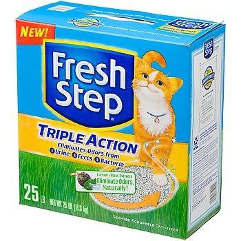 Everclean 261213 Fresh Step Tripl Act Scp 25