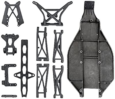 Team Associated 7467 T4 Full Carbon Parts Set