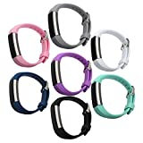 bayite Accessory Silicone Watch Bands with Watch Buckle for Fitbit Alta 5.5 - 7.8 inches