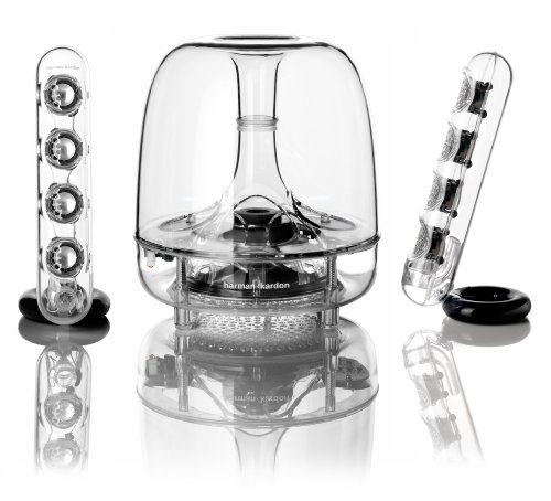 亚马逊美国_哈曼卡顿Harman Kardon Soundsticks III 水晶音箱