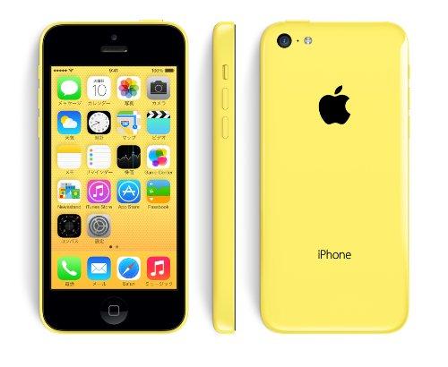 アップル iPhone 5c SIMフリー 香港モデル (16GB, イエロー)
