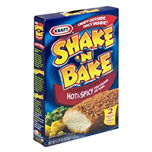 Shake N Bake Hot N Spicy Mix, 5.75-Ounce Units (Pack of 8) from Shake n Bake