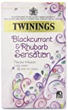 Twinings Blackcurrant and Rhubarb Sensation (Pack of 4)