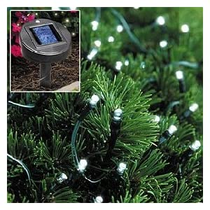 Click to buy Outdoor Christmas Lights: Solar Powered Christmas Lights String Light 105 LED White from Amazon!