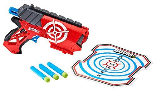 Mattel - Boomco Y5728 - Farshot, Pistola spara dardi