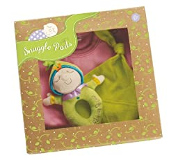 Manhattan Toy Snuggle Pods Onesie Gift Set, Sweet Pea
