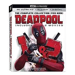 Deadpool 1 & 2 [4K Ultra HD + Blu-ray]