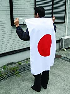 日本国旗 ワールドカップ 日本代表応援用 国旗 日の丸[ テトロン 70×105cm 日本製 ]