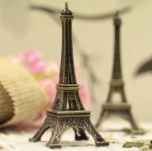"Metal Marvels Paris Eiffel Tower, Mini Eiffel Tower Model Decoration, 5"" Eiffel Tower front-926131"