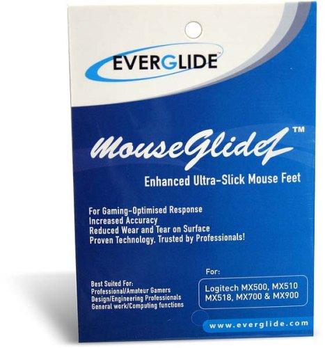 Everglide Mouseglidez für MX500/MX510/MX518/MX700/MX9 Unterteil für Maus