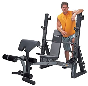 Powerhouse Phc 2000 Deluxe Olympic Bench Olympic Weight Benches Sports Outdoors