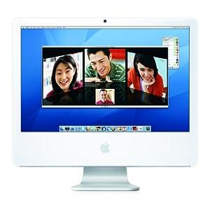 Apple iMac MA456LL/A 24-inch Desktop PC (2.16 GHz Intel Core 2 Duo, 1 GB RAM, 250 GB Hard Drive, SuperDrive)