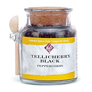 Tellicherry Black Pepper - 6 ounce jar