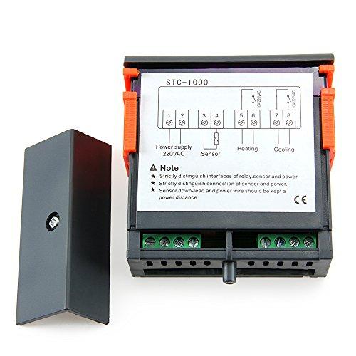 Colemeter regolatore temperatura acqua acquario termostato for Temperatura acquario