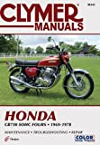 img - for Clymer Honda CB750 SOHC Fours 69-78: Service, Repair, Maintenance book / textbook / text book