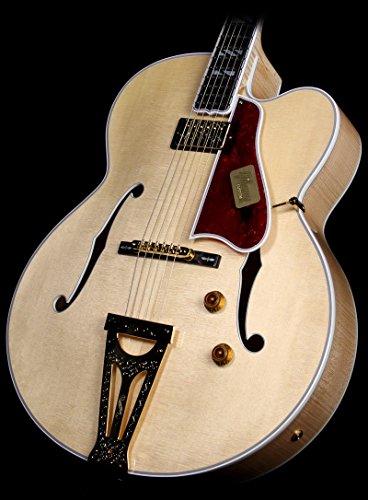 Gibson Custom Shop Hss4Nagh1 Hollow-Body Electric Guitar, Natural