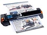 Somikon 2in1-Scanner: mobiler Handscanner mit Dockingstation...