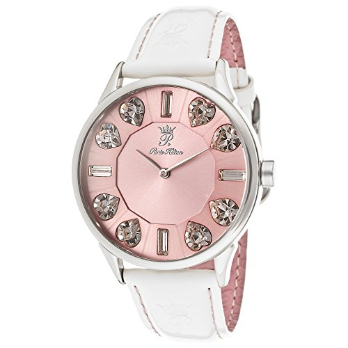 Orologio Donna Quarzo Paris Hilton display Analogico cinturino Pelle Rosa e quadrante   PH13524MS