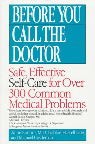 Before You Call the Doctor, Anne Simons M.D.
