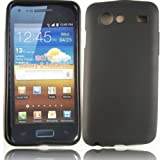 Gel Shell Case Cover For Samsung Galaxy S Advance i9070 / Black