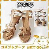 【高級コスプレブーツ 靴】【コスプレブーツ ONE PIECE ナミ cosplay 高級コスプレブーツ 靴】コスプレ ブーツ 靴 ワンピース(ONE PIECE) ナミ/x050/SALE201403XP5 女性用24cm