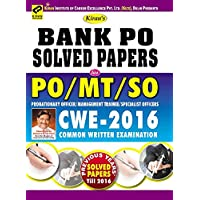 Kiran's Bank PO Solved Papers For PO/MT & SO Probationary Officer & Management Trainee/Specialist Officer (Cwe-2016) Common Written Examination-English