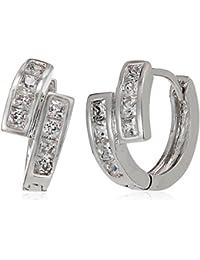 SIA Art Jewellery Clip-On Earrings For Women (Silver) (AZ3281)