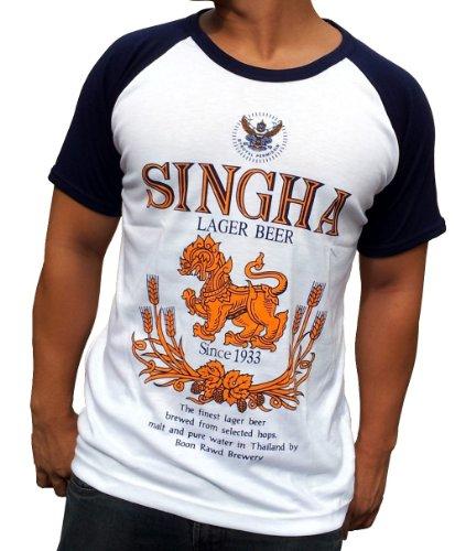 singha-beer-shirt-t-shirt-grosse-l